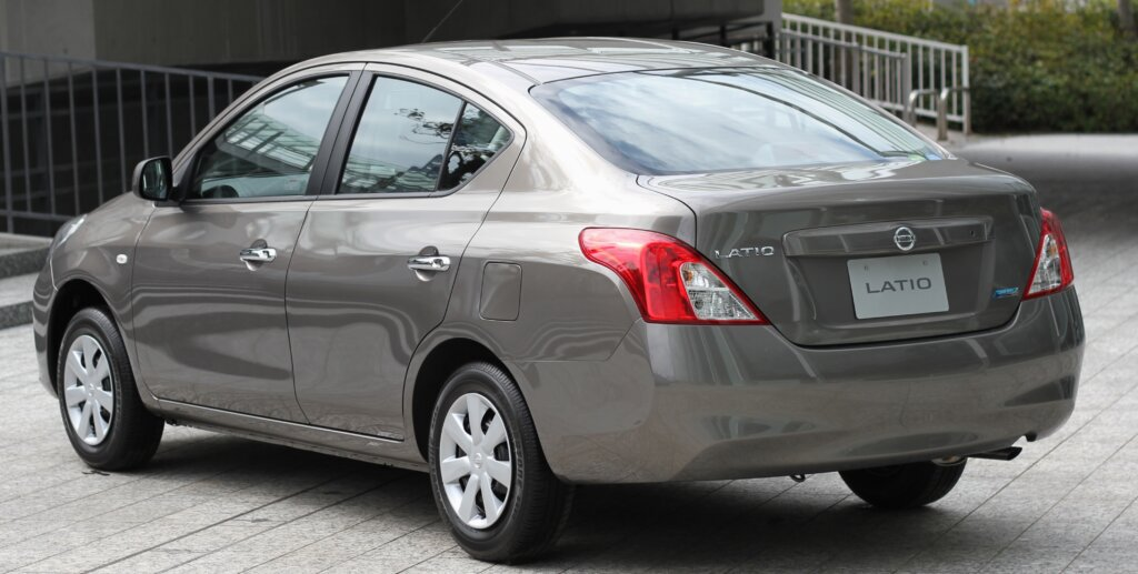 Image of Nissan Tiida Latio